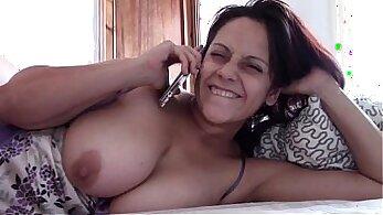 Big titty mom Anita Rosen and fucking on a boat