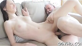 Young Food Babe Takes Pounding