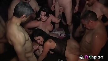 College Orgy With Swingers At A Prison Party