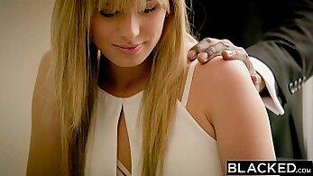 Blonde Chick Take Big BBC in Ass on ProadAngel