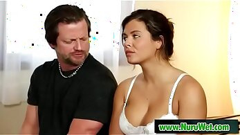 Bootyful blonde hoe Keisha Grey facesits delicious stepdad