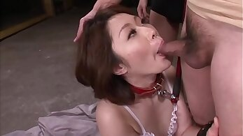Beautiful mature pop bang and blowjob in hot threesome