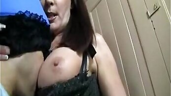 Busty mommy taken away and fucked