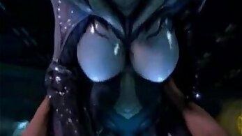 Carmenica - Ebony girl takes cock in her tight pussy