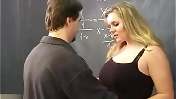 Class teacher and student fucked in classroom