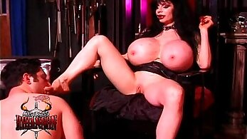 Mistress Richard punisher with the hot and really redbone cheap slave ended