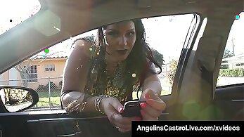 Chubby Latina Girl Sucking Cock At Home