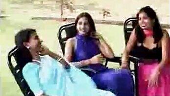 Alike looking indian lesbians have fun playing around