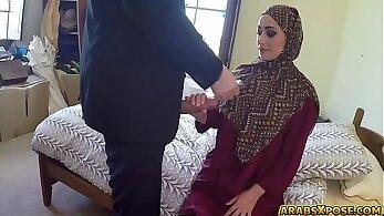 Arab Hijab Sluts Getting Banged For Money