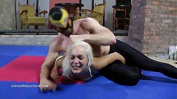 Athina basic mindfuck humiliation. - fuck boy wrestling
