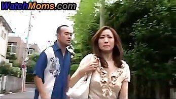 Japanese Microtit Asian MILF at Big Cock Porn Video