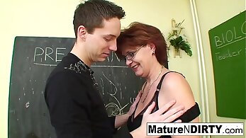 Big tit teacher patron and her student Suspect and accomplice