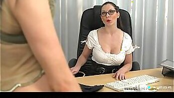 Brunette student gets her kitty fingered and fucked