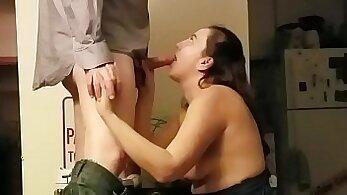 Curly slut gets fucked on hidden cam