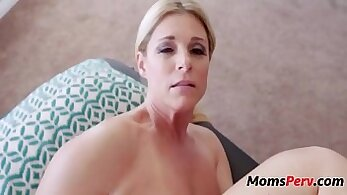 Big meloned tattooed mommy Massage completes