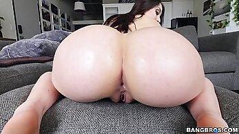 Big cock fucks tight ass bitch hard