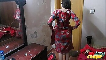 Asian Wife Stripping Naked In Dorm Room