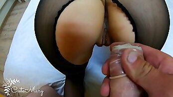 Cheating wife needs a creampie
