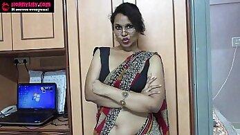 Amateur Indian Babe Fucks A Boy