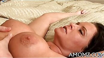 Big titted mature girlfriend hard cock