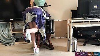 Bbc loving stepmom rides her patient