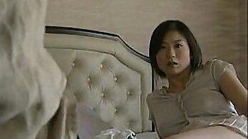 Busty Japanese Halle Berry and Miu Miyang get fucked hard